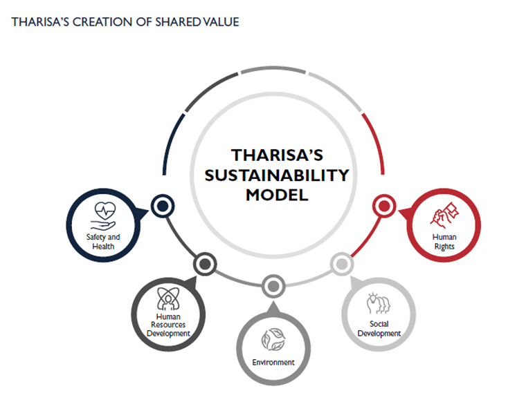 Tharisa creation of shared value